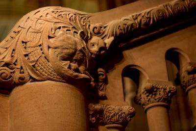 New York State Capitol  Building carvings