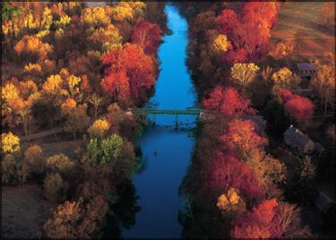 Brandywine Creek Aerial