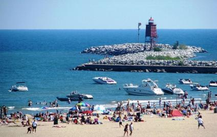 North Beach -  boats