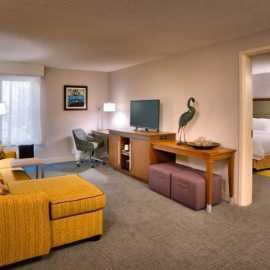 1 Bedroom King Suite (Living Area)