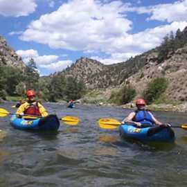 kayaking on the Provo