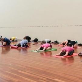 Art + Wellness | Yoga in the Great Hall