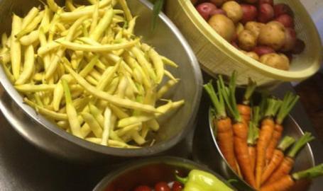 54 Main Bistro Restaurant Hobart fresh veggies