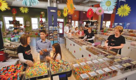 Albanese Candy Things to Do Hobart store