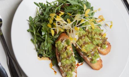 Miller Bakery Cafe Gary Restaurant Arugula Salad