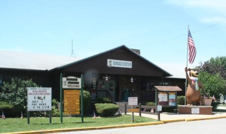 Yogi Camp Jellystone Hotel Portage Ranger Station