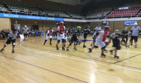 Hammond Civic Center Roller Derby