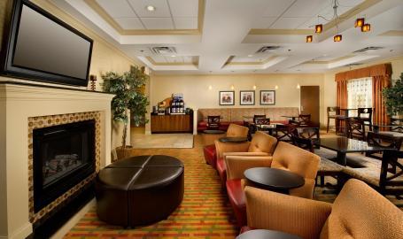 Holiday Inn Express Schererville Hotel lobby