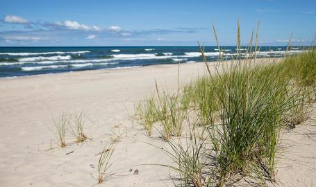 Indiana Dunes National Lakeshore Beach