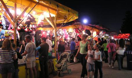 Lake County Fair Things to Do Crown Point fairway