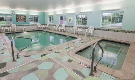 Microtel Inn Suites Hotel Michigan City Pool
