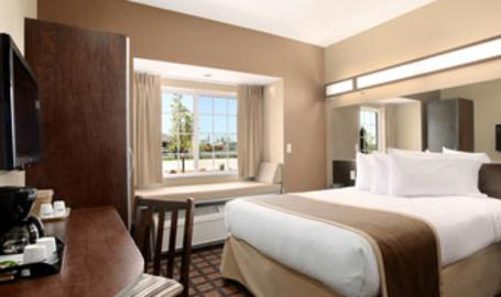 Microtel Inn Suites Hotel Michigan City Queen