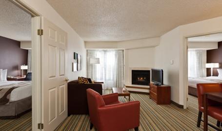 Residence Inn Hotel Merrillville 2 Bedroom Suite