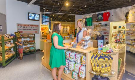 South Shore Gift Shop counter