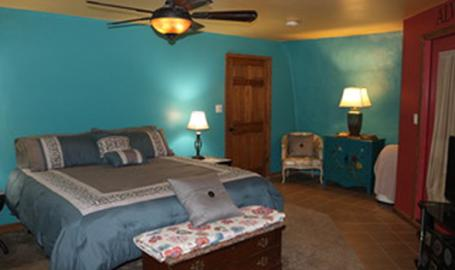 Thyme for Bed blue room