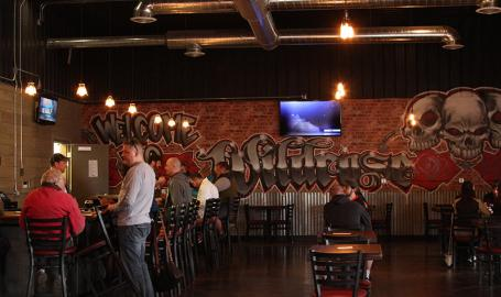 Wildrose Brewing Griffith interior