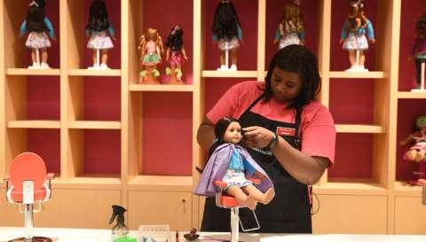 Holiday Doll Hair Extravaganza