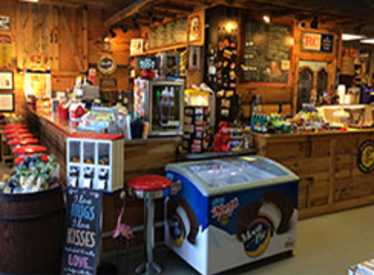 Moon Pie Store counter
