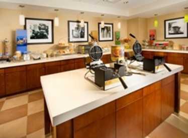 Breakfast buffet at Hampton Inn/Cleveland TN