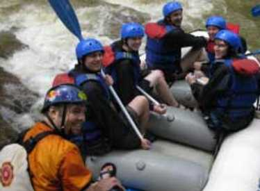 Rafters at Cherokee Rafting
