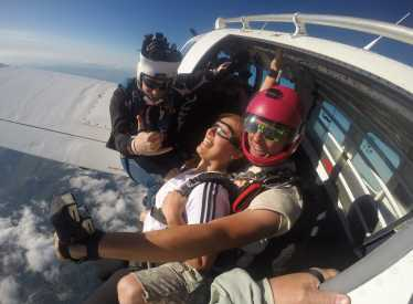 On The Edge At 18,000FT