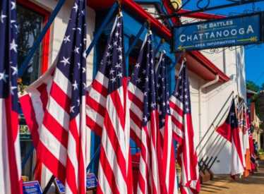 Battles For Chattanooga Flags