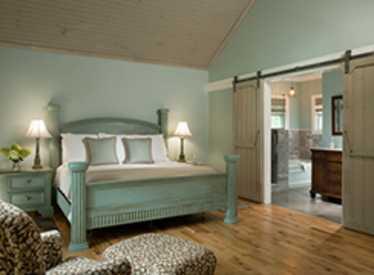 Chanticleer Cottage Master Bedroom