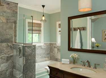 Chanticleer Cottage Master Bath