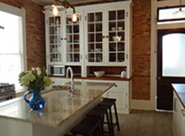 Kitchen at Luxe Living