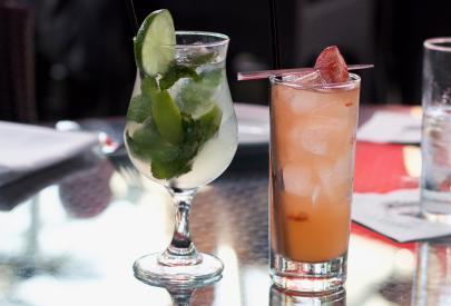 Cocktails at Bistango in Irvine