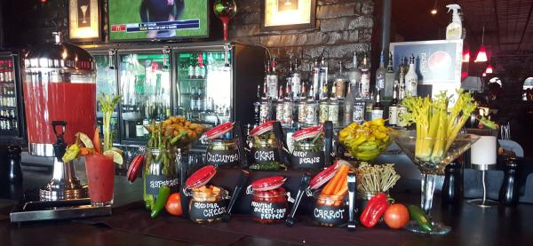 Trolley Steaks and Seafood Bloody Mary Bar - Fort Wayne, IN