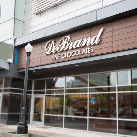 New DeBrand Fine Chocolates Downtown Location