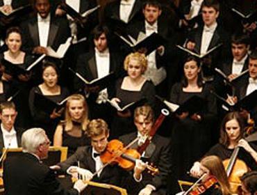 Eastman Chorale, Repertory Singers, Women's Chorus.