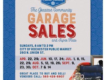 Community Garage Sales and Super Fleas