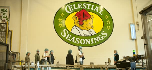 Celestial Seasonings Tour