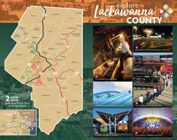 Lackawanna County Map