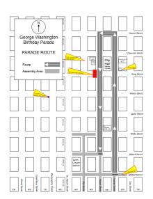 GW Parade Route