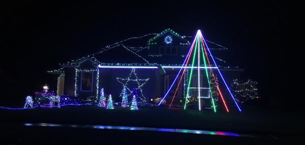 Best Christmas Lights Display - Monte Carlo Drive