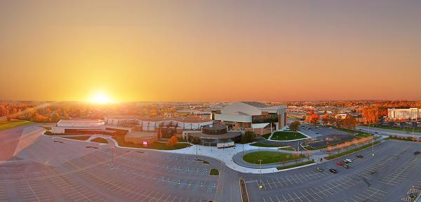 Memorial Coliseum Aerial - Fort Wayne, Indiana