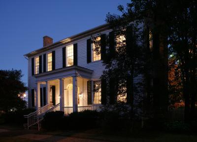 Church-Waddel-Brumby House at Night