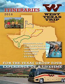 West Texas Trip brochure