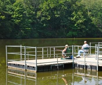 Enjoy some fishing with Dad at Sodalis Nature Park