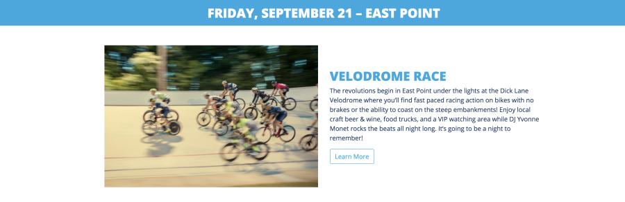 Velodrome race