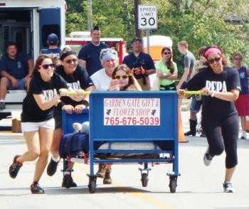 Don't miss the Bed Race on Monday, Sept. 3 at 1:30 p.m. (Photo courtesy of North Salem Old Fashion Days Festival Facebook page)