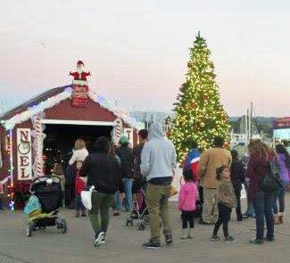 Christmas on the Wharf