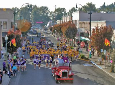 Main Street homecoming