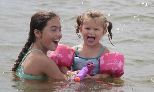 Cedar Bluff State Park Kids