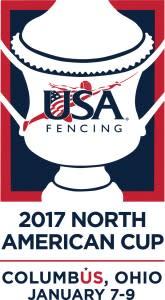 USA Fencing - 2017 North American Cup logo