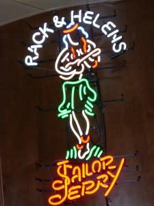 Racks sailor sign