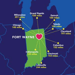2017 Fort Wayne Regional Map